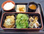 滋賀県産豚の生姜焼き弁当